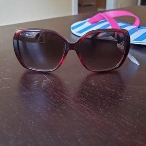 NWT Chloe Tortoise Square Sunglasses CE680S 219 58